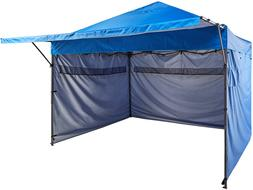 Basics 10' x 10' Pop-Up Canopy with sidewalls, Blue