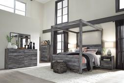Ashley Furniture Baystorm Queen Canopy 6 Piece Bedroom Set B