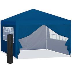 BCP 10x10ft Pop Up Canopy Tent w/ Side Walls