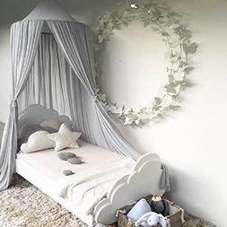 Bed Canopy, Dyna-Living Mosquito Stopping Net Dome Tent Ligh