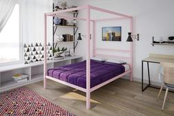 Bed Canopy Metal Mosquito Crown Wall Hardware Frame Drapery