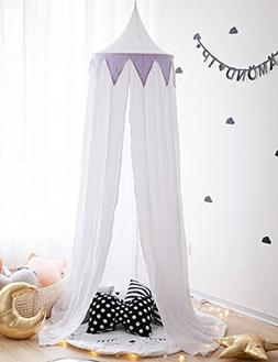Bed Canopy, Block Out Light Dome Princess Mosquito Net Equip