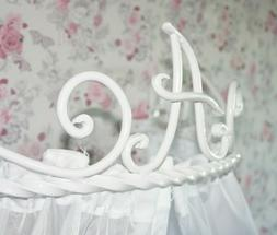 Bed Hardware Crown Canopy Holder Teester Curtains Wall Baby