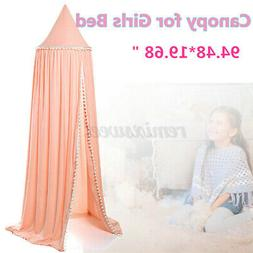 Bedding Girl Baby Bed Canopy Bedcover Mosquito Net Curtain D