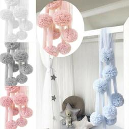 Bedding Hanging Accessories Bed Kids Chiffon Ball Canopy Nur