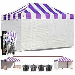 ABCCANOPY Big Sale Carnival Purple 10 X 15 Ez Pop Up Canopy