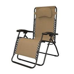 Infinity Oversized Zero Gravity Chair, Beige