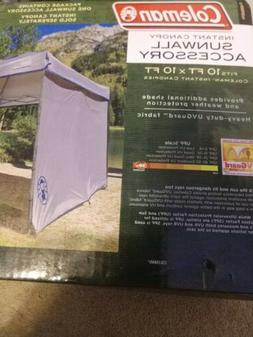 Brand New Coleman Instant Canopy Sunwall, Accessory Only, 10