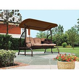 BROWN Replacement Canopy for Walmart's Sand Dune 3-Seater Sw