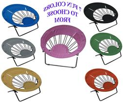 Impact Canopy Bungee Chair Round Folding Chair