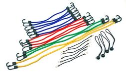 Highland 9008400 Bungee Cord Assortment Jar and Canopy Ties