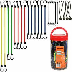 Bungee Cords Strap Rope With Hook Tie Down Truck Van Canopy