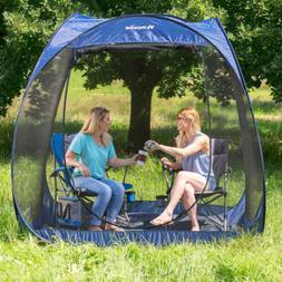 Camping Pop Up Screen Room With Floor Beach Tent Tarp Shade