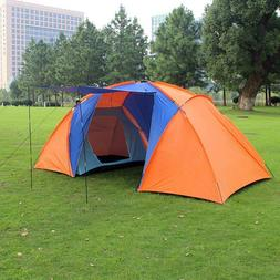 Camping Tent Large Canopy Outdoor 6 Persons Family Tarp Shel