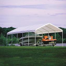 ShelterLogic 12 x 30- Feet Canopy 2- Inch 6-Rib Frame, Green