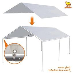 Strong Camel New 10'x20' Canopy for Tent Garage Tarp Top She