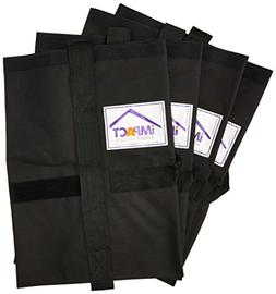 Impact Canopy Weight Bags, Universal Pop Up Canopy Tent Leg