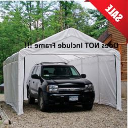 Canopy Enclosure Kit 12x20 Car Port Cover Portable Shelter C