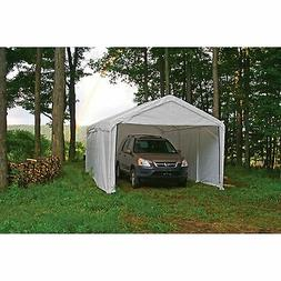 10' x 20' Canopy Enclosure Kit with White for 1 3 / 8 Frame