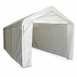 canopy garage side wall kit 10x20 car
