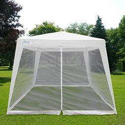 Quictent Outdoor Canopy Gazebo Party Wedding Tent Screen Hou