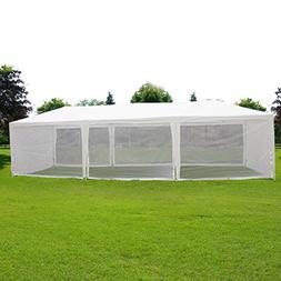 Quictent 10X30 Outdoor Canopy Gazebo Party Wedding Tent Scre