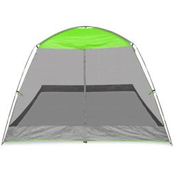 Caravan Canopy Sports 10' x 10' Screen House Shelter, Lime G