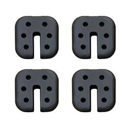 CROWN SHADES Canopy Weight Plates Set of 4-pc for Canopy Squ