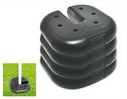 Caravan Canopy Sports Weight Plates, Set of 4