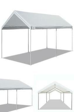 Canopy Shelter Tent Carport 10 x 20 Ft Steel Heavy Duty Fram