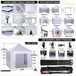 ABCCANOPY Canopy Tent 10 x 10 Pop Up Canopies Commercial Ten