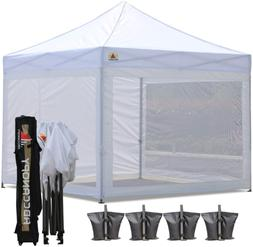 Canopy Tent with Matching Mesh Walls AbcCanopy 10x10Ft Easy