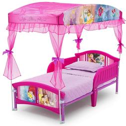 Delta Children Canopy Toddler Bed,  Disney Princess, 20.72 p