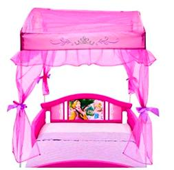 Canopy Bed Toddler  Disny Princess Little Girls for Kids Sid