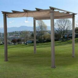 Garden Winds  Canopy Top for the Hampton Bay 9ft Pergola, Be