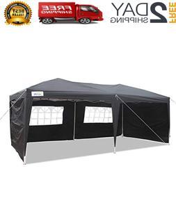 Caravan Canopy Carport 10x20' Portable Garage Shelter Enclos