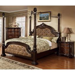 Furniture of America Cathey 2 Piece California King Canopy B