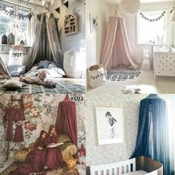 Children Hanging Canopies Curtain Drapes Tent Bed Canopy Rou