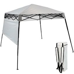 Sunnydaze Slant Leg Compact Backpack Canopy Tent, Instant Po