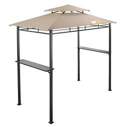 Palm Springs Deluxe 8FT Double-Tier Barbecue Canopy  sc 1 st  canopyguide & Palm Springs Canopy | Canopyguide