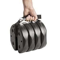 US Weight Deluxe Eco-Canopy Weights with Carry Strap – 40