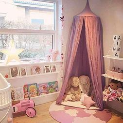 Dix-Rainbow Princess Bed Canopy Net for Kids Baby Bed