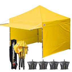 ABCCANOPY 10x10 EZ Pop up Canopy Tent Instant Shelter Commer