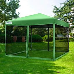 Quictent Ez Pop up Canopy with Netting Screen House Tent Mes