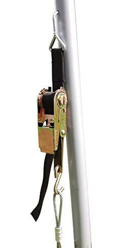 ShelterLogic RatchetTite 4-Piece Anchor Kit, 30-Inch