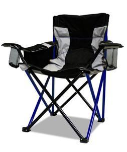 Caravan Sports Elite Quad Chair, Blue