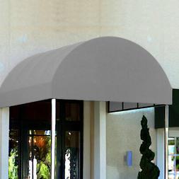 Awntech Entrance Canopy Gray 6'W x 10'D x 8'H
