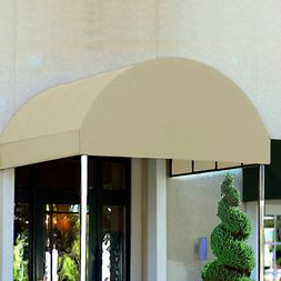 Awntech Entrance Canopy Linen 6'W x 18'D x 8'H
