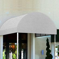 Awntech Entrance Canopy Oatmeal Tweed 6'W x 14'D x 8'H