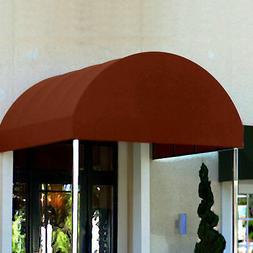 Awntech Entrance Canopy Terra Cotta 6'W x 12'D x 8'H